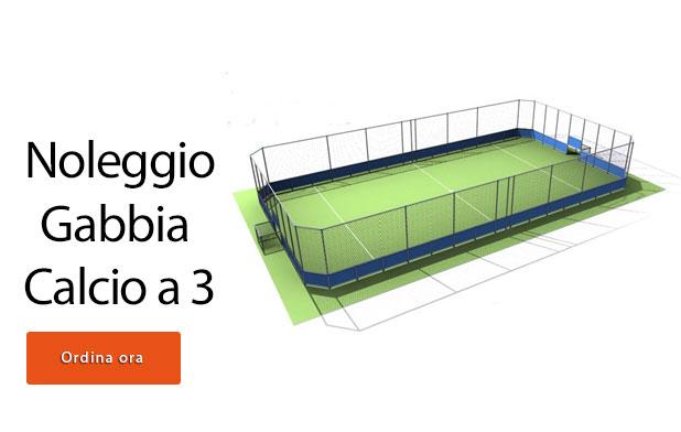 Noleggio o vendita gabbia calcio latina street soccer - Misure porta di calcio ...